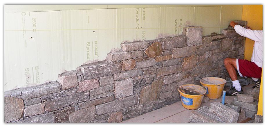 rivestimento interni sasso : Rivestimenti in pietra e sassi zona NOVARA provincia di NOVARA ...
