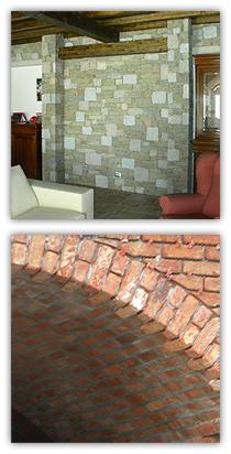 lavorazioni per rivestimenti pietra e  sassi
